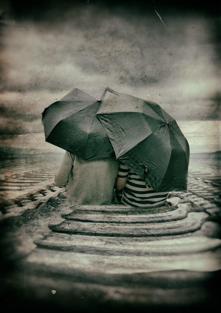 Regentage - Es gibt Regentage im Leben, zeig es, wenn du einen Schirm brauchst ...